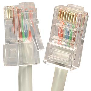Cat.5E UTP CMR Non-Booted Cables