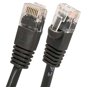 Cat.5E UTP Booted Cables