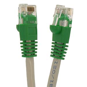 Cat.5E UTP Cross Booted Cables