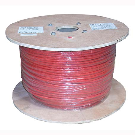 1000Ft Cat.6 Stranded Wire Bulk Cable Shielded Red, 26AWG CMH