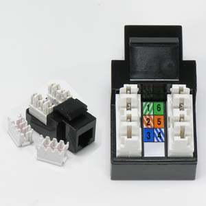 cat5e keystone jack wiring diagram rj11/12 (cat.3) 110 type keystone jack black - bestlink ... #3
