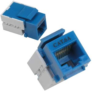 Cat.6A Keystone Jacks