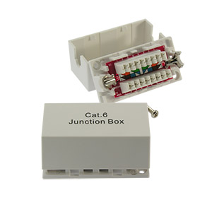 Cat.6 Junction Box, Punch Down