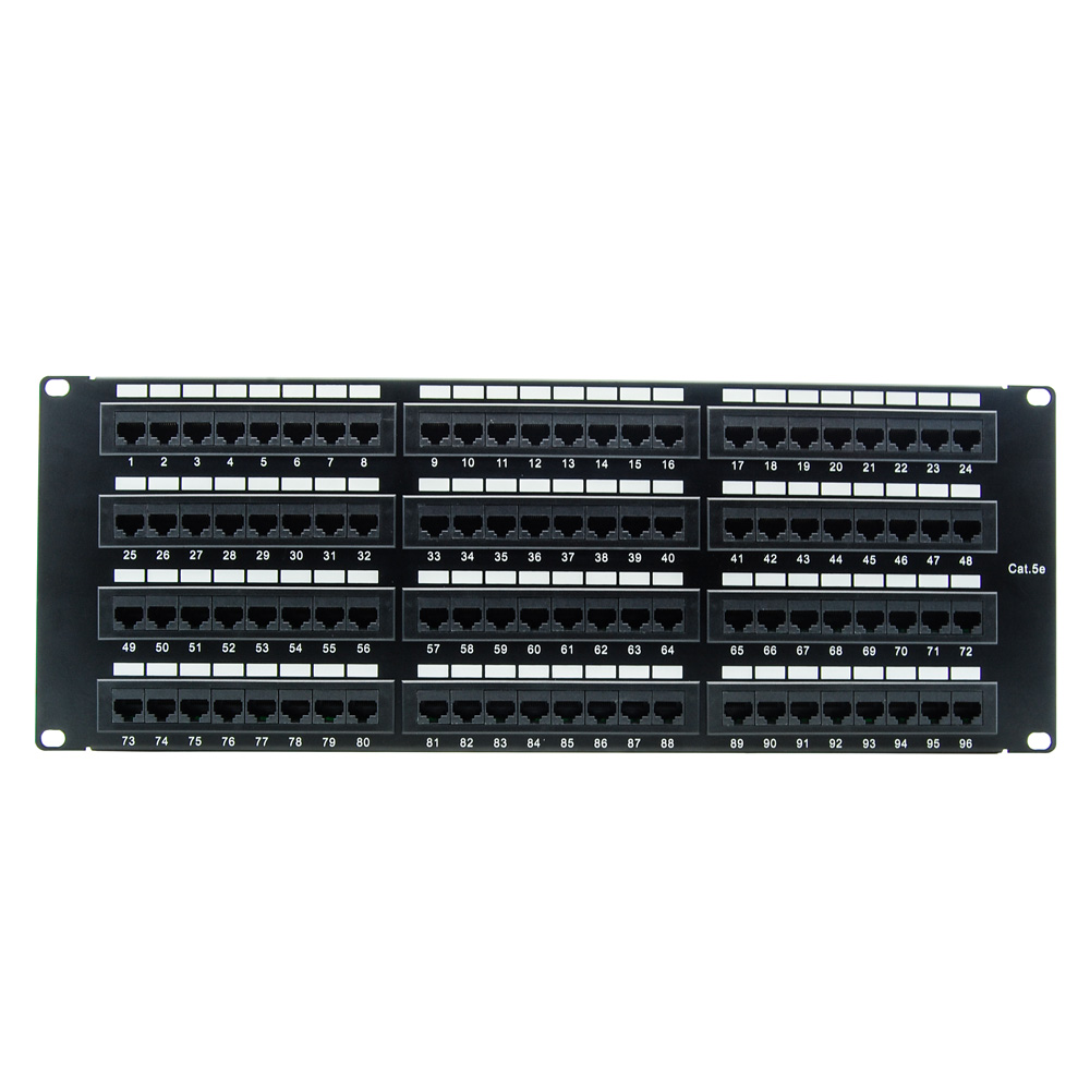 Cat.5E 110 Type Patch Panel 96Port Rackmount