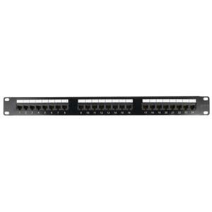 Cat.5E 110 Type Patch Panel 24Port Rackmount