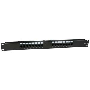 Cat.5E 110 Type Patch Panel 16Port Rackmount