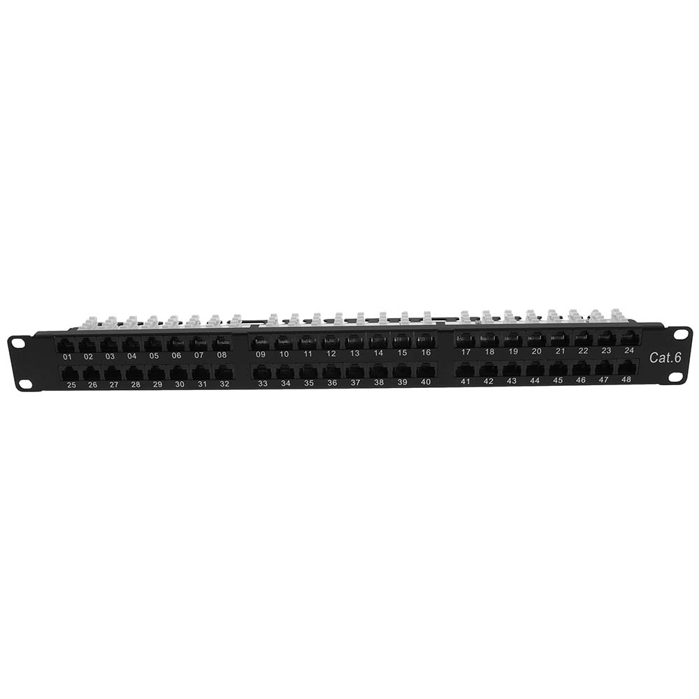 Cat.6 1U 48Port Patch Panel UTP