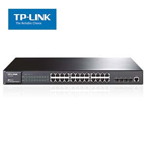 24-Port Gigabit L2 Managed Switch W/4 SFP Slots TP-Link SG5428
