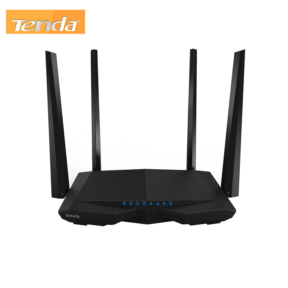 AC1200 Smart Dual-Band Wireless Router Tenda AC6