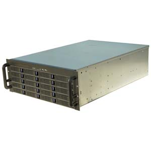 4U Rackmount Server Case w/20 Hot-Swappable Drive Bays, RPC-4020