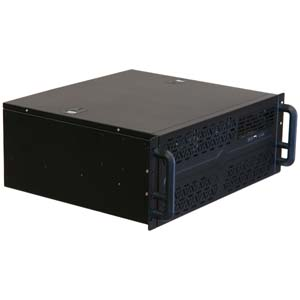"Super Short Depth 15.25"" 4U Rackmount Chassis, RPC-430"