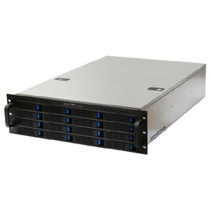 3U Rackmount Server Case w/16 Hot-Swappable Drive Bays, RPC-3116
