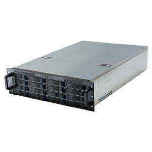 3U Rackmount Server Case w/16 Hot-Swappable Drive Bays, RPC-3216