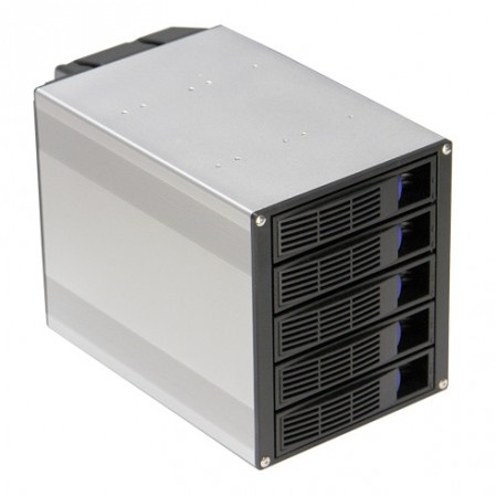 5 Bay SATA / SAS Hot Swap Rack Module, SS-500