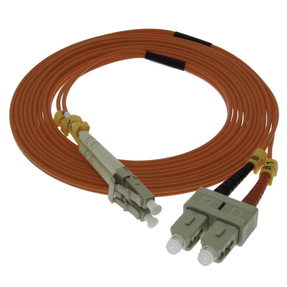 5m Lc Sc Duplex Multimode 62 5 125 Fiber Optic Cable