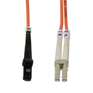 2m LC-MTRJ Duplex Multimode 50/125 Fiber Optic Cable