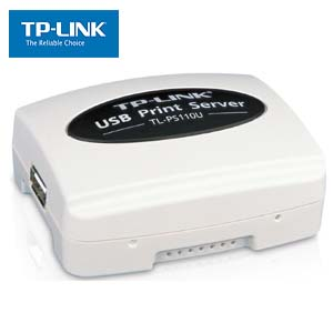 Network Print Server with USB2.0 Single Port TP-Link PS110U