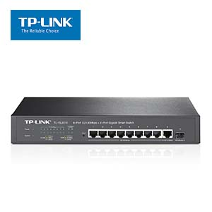 8-Port 10/100Mbps + 2-Port Gigabit Smart Switch TP-Link SL2210