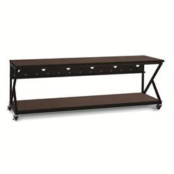 "96"" Performance 300 Series LAN Station - African Mahogany"