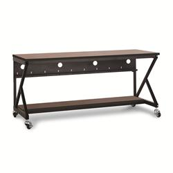 "72"" Performance 400 Series LAN Station - Serene Cherry"
