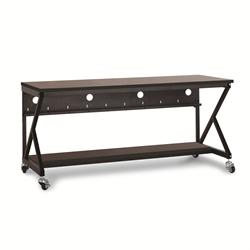 "72"" Performance 400 Series LAN Station - African Mahogany"