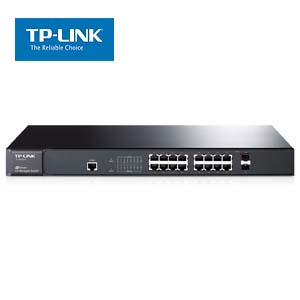 16-Port Gigabit L2 Lite Managed Switch with 2 Combo SFP Slots,TP-Link SG3216