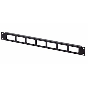 1U Cable Routing Blank