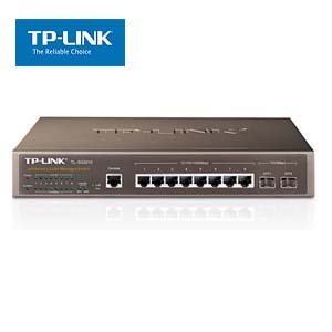 8-Port Gigabit L2 Lite Managed Switch w/2 SFP Slots TP-Link SG3210