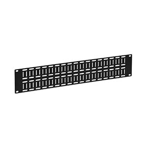 2U Flat Cable Lacing Panel