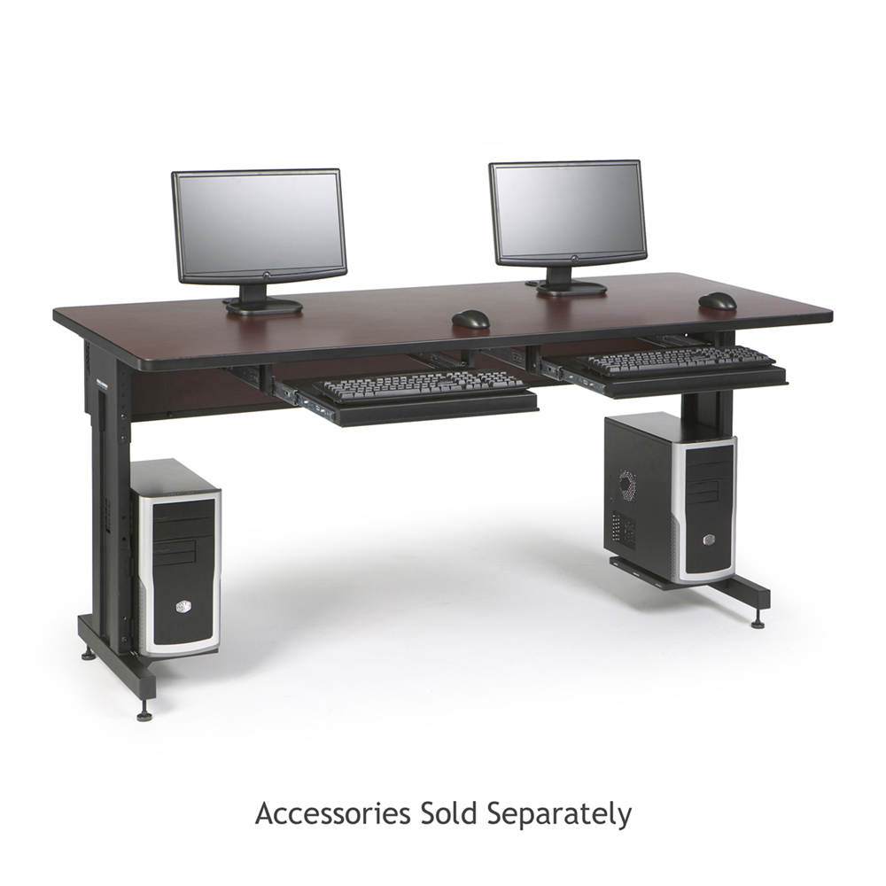 "72"" W x 30"" D Training Table - African Mahogany"