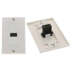 HDMI 1 Port Wall Plate
