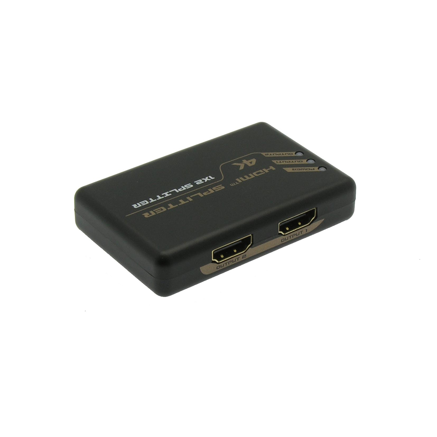 HDMI 2-Way (1-in/2-out) Splitter 3D, 4K 30Hz