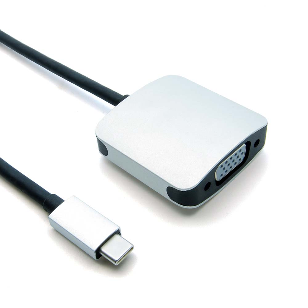USB Type C (Thunderbolt) Male to VGA Female
