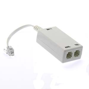DSL Splitter with Noise Filter