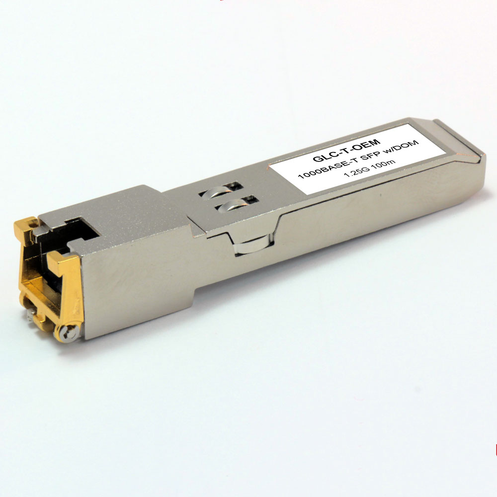 Cisco Compatible (GLC-T) 1000 Base-T SFP Copper 100 Meter 30-1410-02 Rev2