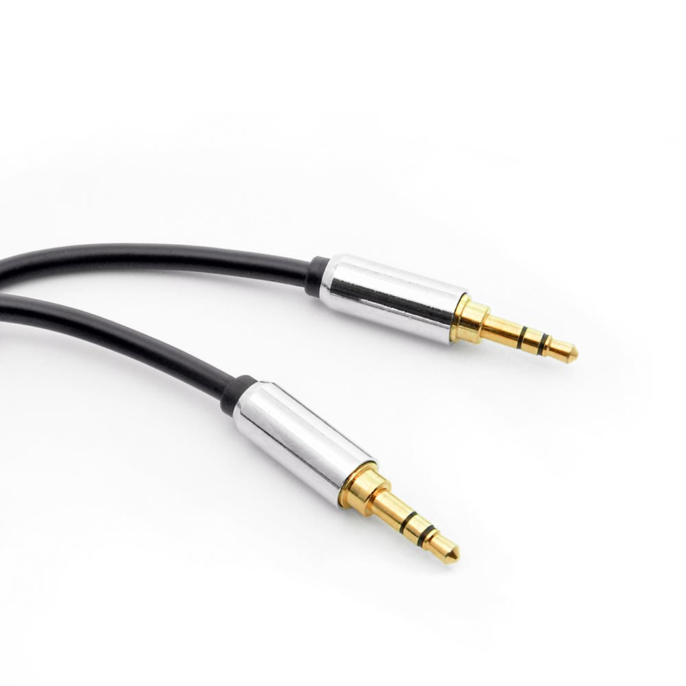 1Ft 3.5mm Stereo Male to Male Premium Audio Cable