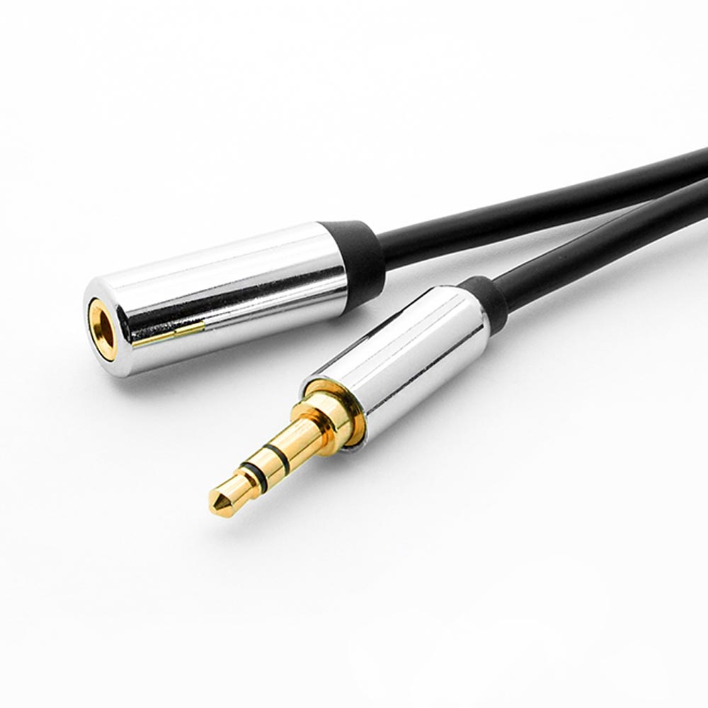 6Ft 3.5mm Stereo Male to Female Premium Audio Cable