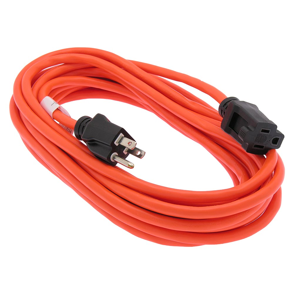 No Extension Cords : Ft sjtw orange extension cord black plug bestlink