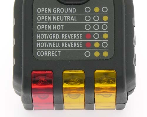 AC GFCI Circuit Tester Electric Outlet Plug Receptacle