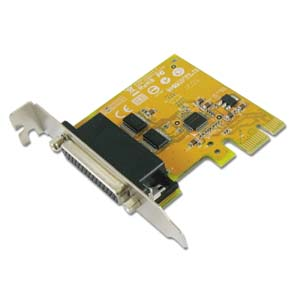 2-port RS-232 Low Profile PCI Express Board