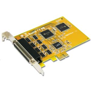 8-port RS-232 PCI Express Serial Board