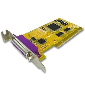 1 Port Remap IEEE1284 Parallel Low-Profile Universal PCI Card