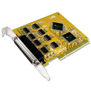 8 Port RS-232 Universal PCI Serial Card