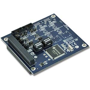 2 Port RS-422/485 PCI/104 Low Profile Board w/ Surge & Isolation
