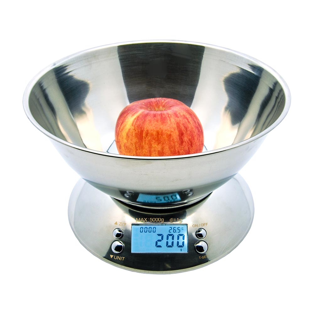 5000g Food Grade Stainless Bowl Kitchen Scale NS-K21