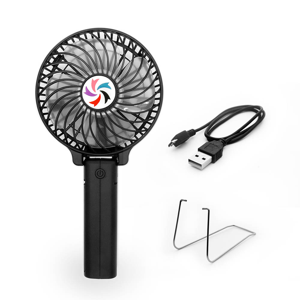 Portable Usb Fan : Portable usb mini battery fans with umbrella hanging and