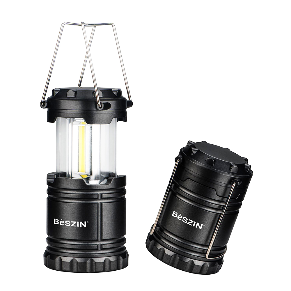 Indoor/Outdoor Colapsable Camping Lantern with Batteries