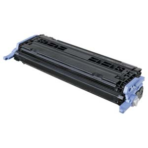 Replacement Black Toner Cartridge for HP Q6000A