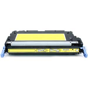 Replacement Toner for HP Q6472A Yellow
