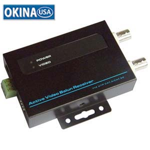 Video Balan Active receiver (use w/501512 transmiter) 5KFt Okina VAB100R